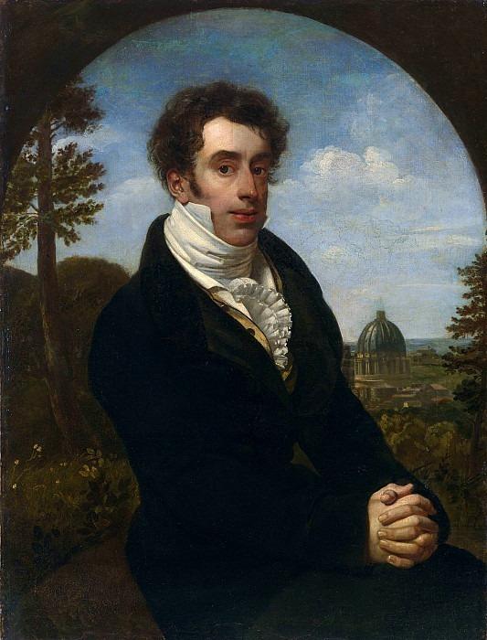 Portrait of Prince A.M. Golitsyn. Orest Adamovich Kiprensky