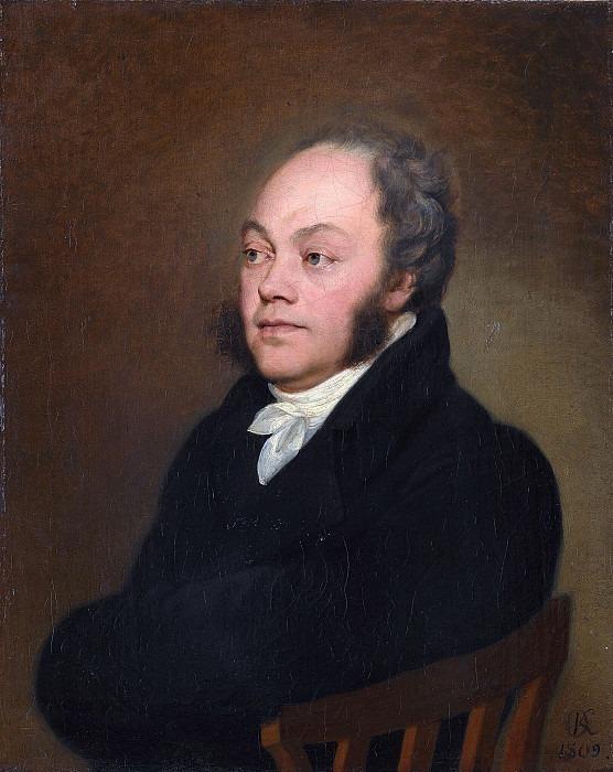 Portrait of Count F.V. Rostopchin. Orest Adamovich Kiprensky