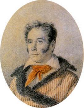 VI Kozlov. 1823-27. Orest Adamovich Kiprensky