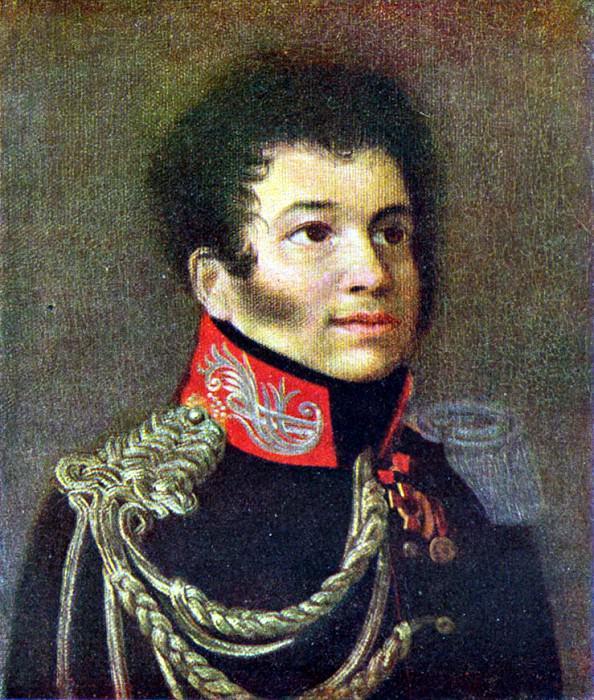 Портрет С. Н. Марина. 1812.. Орест Адамович Кипренский