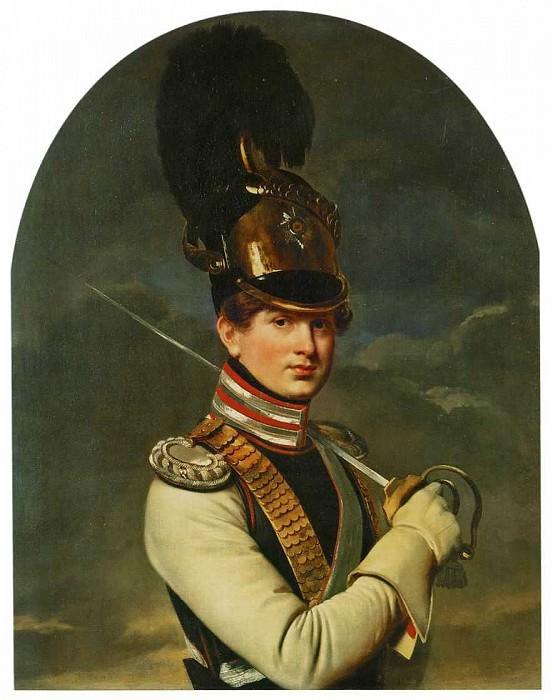 Portrait of Prince H. Trubetskoy. 1826. H., m. 93, 5h76, 5 GTG. Orest Adamovich Kiprensky