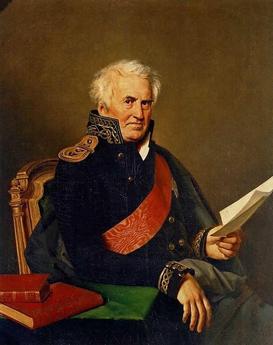 Portrait Shishkov. 1825 Nyima, St. Petersburg. Orest Adamovich Kiprensky