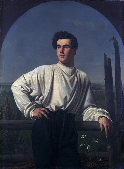 Portrait of Afanasy Fedorovich Shishmarev. Orest Adamovich Kiprensky