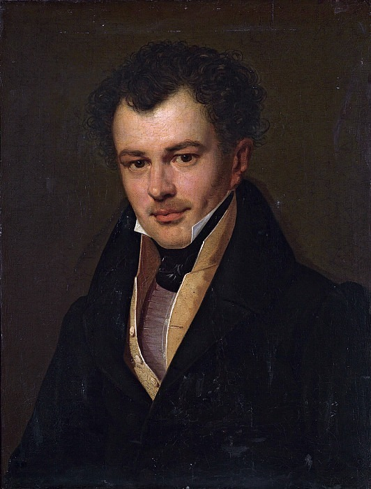 Portrait of Mikhail Cherkasov. Orest Adamovich Kiprensky