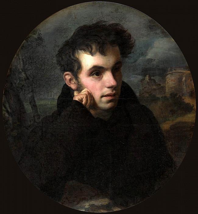 Portrait of the poet Vasily Zhukovsky. Orest Adamovich Kiprensky