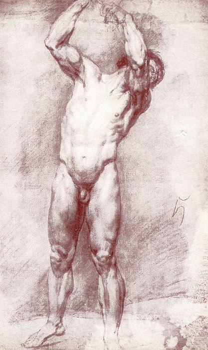 sitter. IT. K., chalk. 1803. GRM. Orest Adamovich Kiprensky