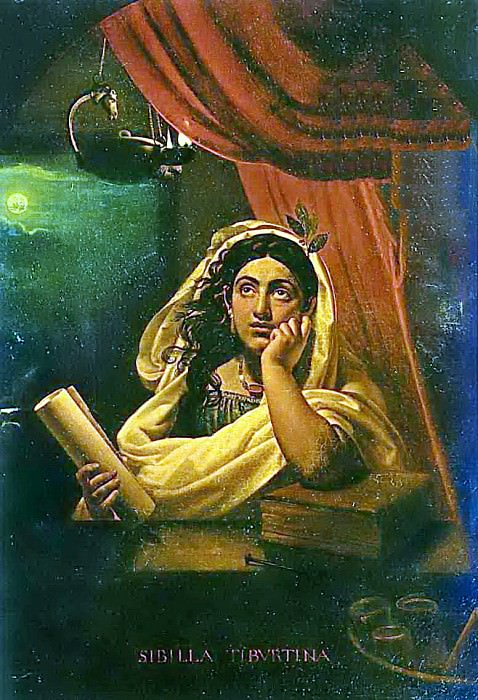 Tiburtinskaya Sibyl. 1830. H., m. 137. 4h96. 9. GTG. JPG. Orest Adamovich Kiprensky