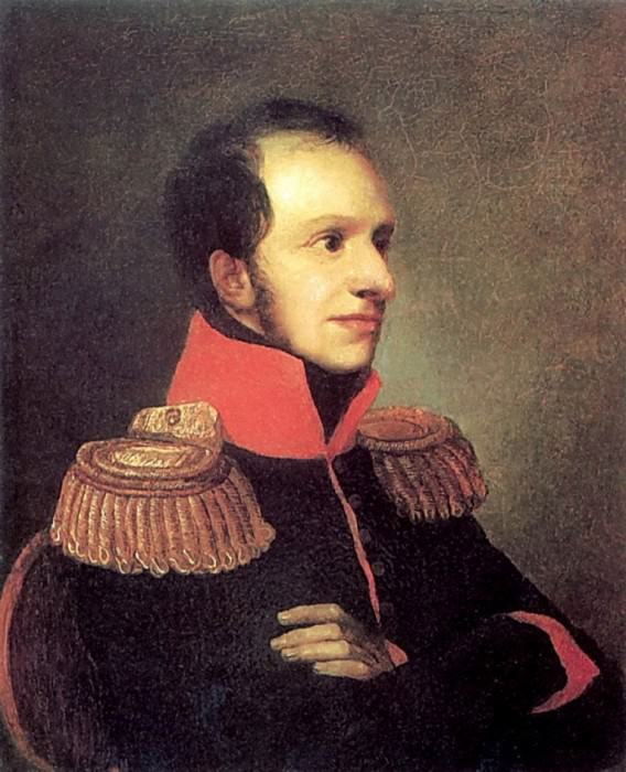 Portrait of Prince George Petrovich of Oldenburg. 1811 AD, m. 29. 5h24. 2. Pavlovsky bits. Moose.. Orest Adamovich Kiprensky
