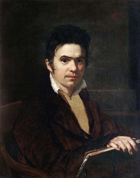 Portrait of Alexander Vostokov (?). Orest Adamovich Kiprensky