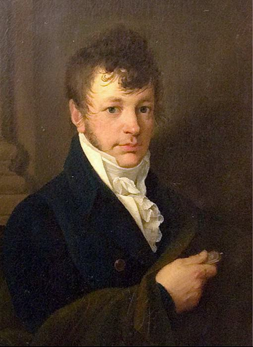 Portrait of Alexei Romanovich Tomilova. Before 1828 Oil on canvas. 44, 5h35, 2 RM. Orest Adamovich Kiprensky
