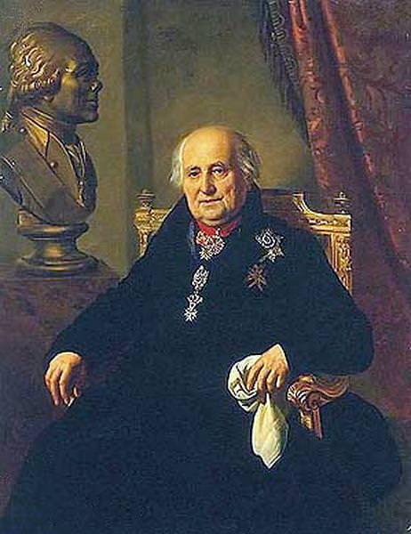 Portrait GG Kusheleva. 1827. GE. Orest Adamovich Kiprensky
