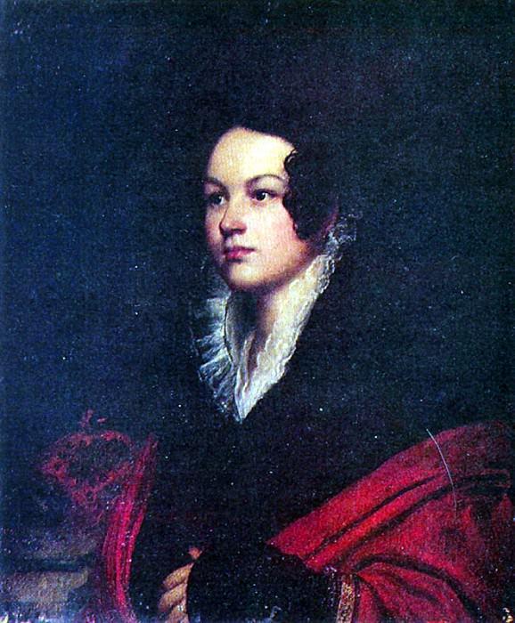 Женский портрет. 1816-20(q). Х. , м. 70. 2х58. 8. Сумы. Орест Адамович Кипренский
