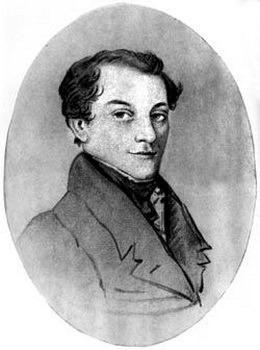 K. F. Rileyev. Drawing. Orest Adamovich Kiprensky