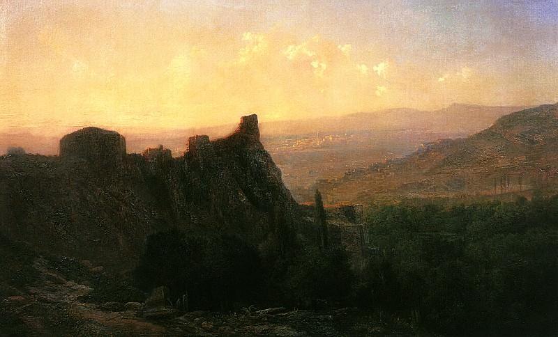 Tiflis View. Lev Lagorio