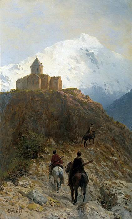 Caucasian appearance. 1889. Lev Lagorio