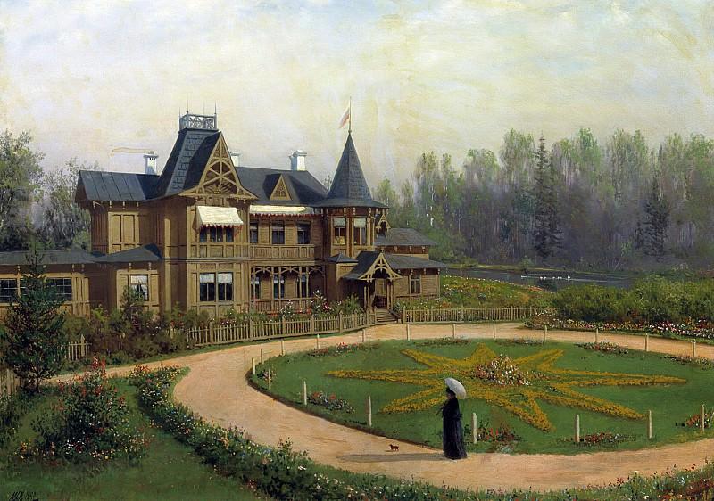 Дача. 1892. Холст, масло. Лев Феликсович Лагорио
