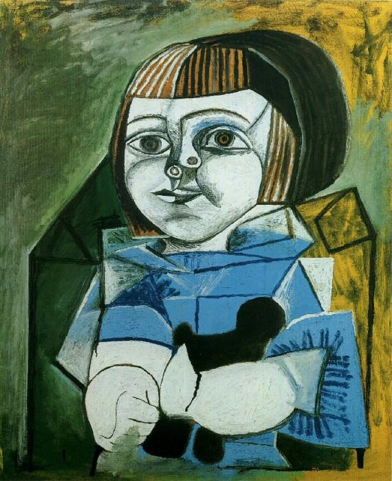 1952 Paloma en bleu. Pablo Picasso (1881-1973) Period of creation: 1943-1961