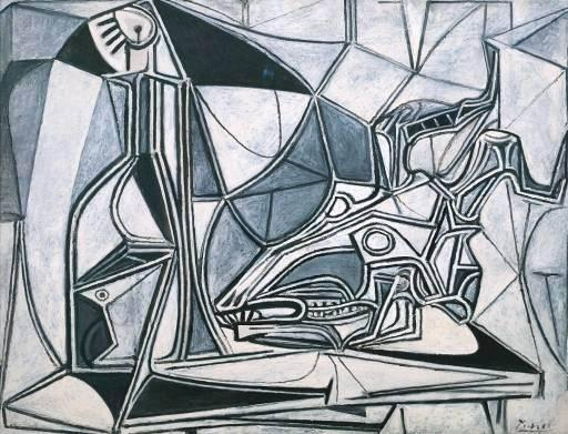 1952 CrГne de chКvre, bouteille et bougie. Pablo Picasso (1881-1973) Period of creation: 1943-1961