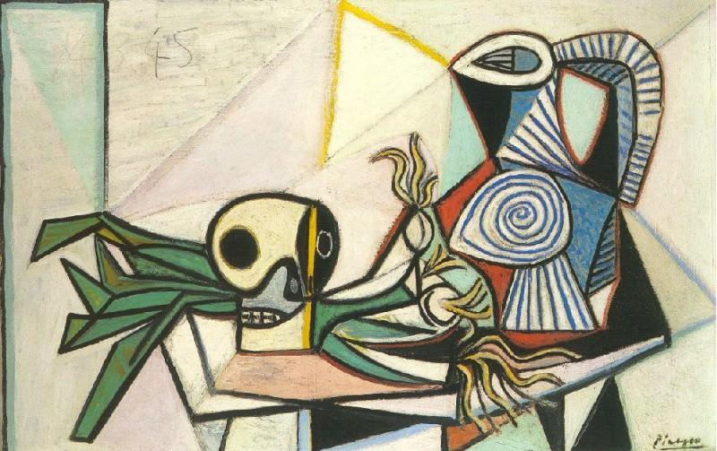 1945 Poireaux, crГne et pichet 4. Pablo Picasso (1881-1973) Period of creation: 1943-1961