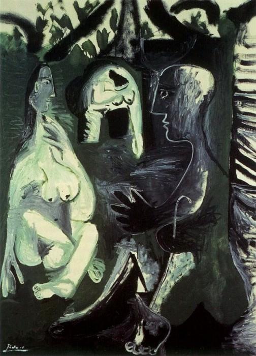 1961 Le dВjeuner sur lherbe (Manet) 10. Pablo Picasso (1881-1973) Period of creation: 1943-1961