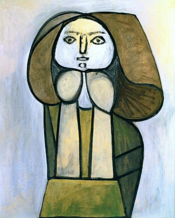 1946 Femme Е la robe verte. Pablo Picasso (1881-1973) Period of creation: 1943-1961