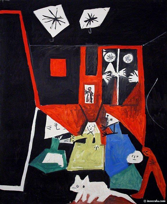 1957 les menines daprКs Velasquez. Pablo Picasso (1881-1973) Period of creation: 1943-1961