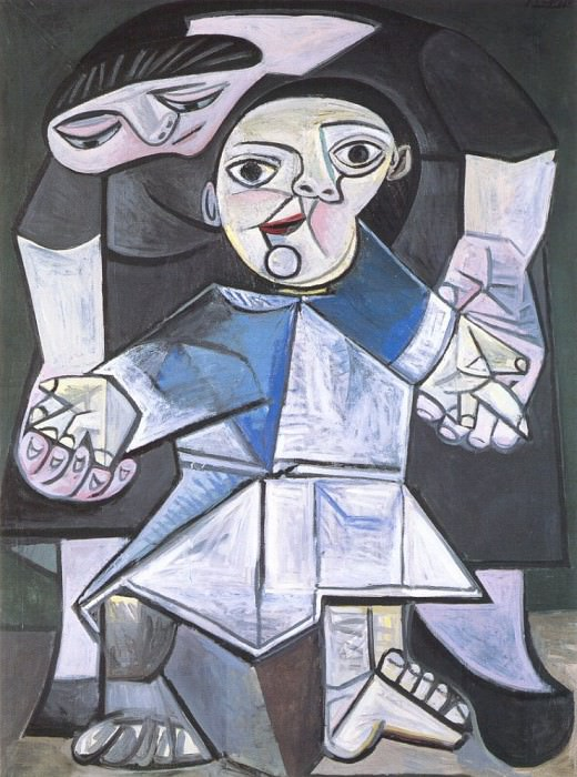 1943 Premiers pas. Pablo Picasso (1881-1973) Period of creation: 1943-1961