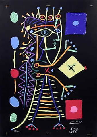 1958 Jacqueline. Pablo Picasso (1881-1973) Period of creation: 1943-1961