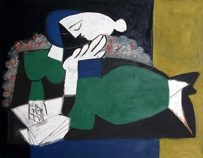1953 La liseuse. Pablo Picasso (1881-1973) Period of creation: 1943-1961