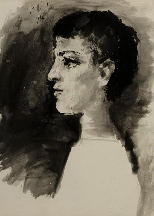 1944 TИte de jeune garЗon. Pablo Picasso (1881-1973) Period of creation: 1943-1961