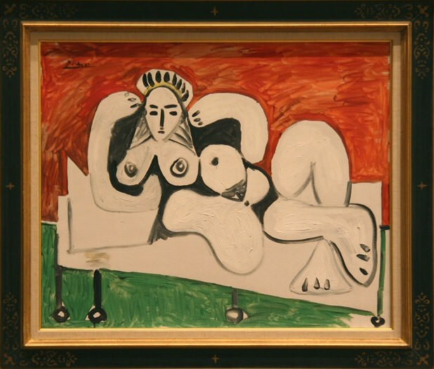 1960 Femme nue couchВe. Pablo Picasso (1881-1973) Period of creation: 1943-1961