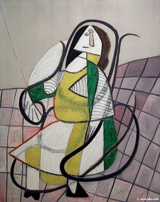 1943 Le rocking-chair. Pablo Picasso (1881-1973) Period of creation: 1943-1961