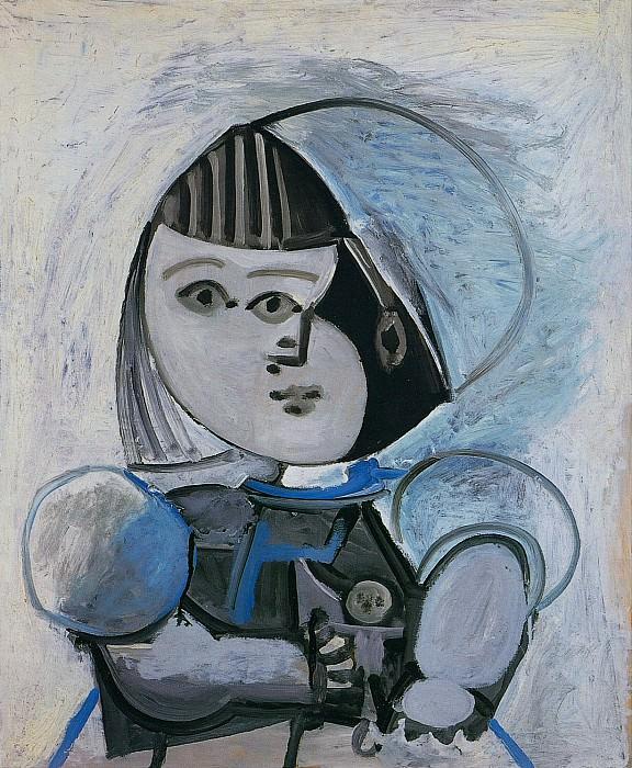1952 Paloma Е la poupВe. Pablo Picasso (1881-1973) Period of creation: 1943-1961