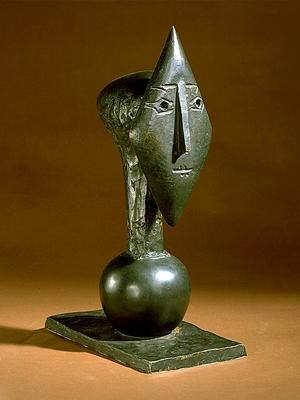 1951 TИte de femme. Pablo Picasso (1881-1973) Period of creation: 1943-1961