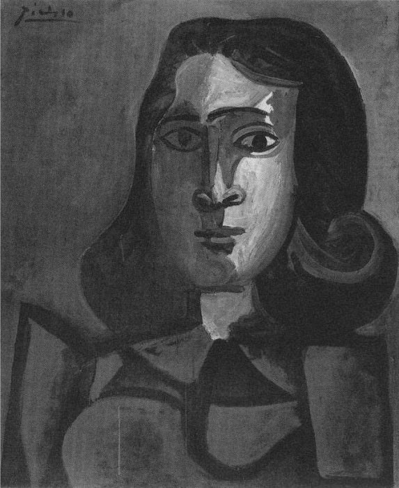 1943 Portrait de Dora Maar 1. Pablo Picasso (1881-1973) Period of creation: 1943-1961