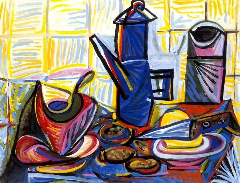 1943 CafetiКre 1. Пабло Пикассо (1881-1973) Период: 1943-1961