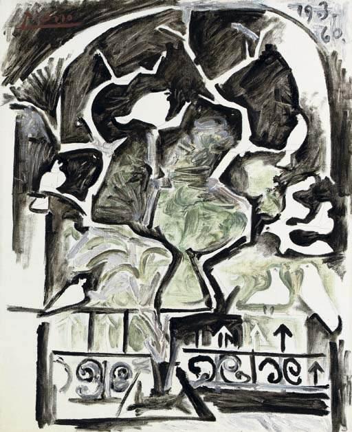 1960 Pigeons devant la fenИtre. Пабло Пикассо (1881-1973) Период: 1943-1961