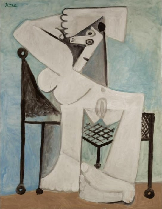 1958 Femme assise I. Pablo Picasso (1881-1973) Period of creation: 1943-1961