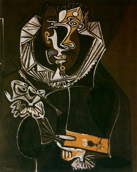 1950 Portrait dun peintre (El Greco). Pablo Picasso (1881-1973) Period of creation: 1943-1961
