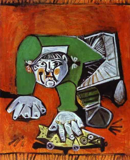 1950 Paloma au poisson de celluloid. Pablo Picasso (1881-1973) Period of creation: 1943-1961