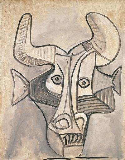 1958 Minotaure. Pablo Picasso (1881-1973) Period of creation: 1943-1961
