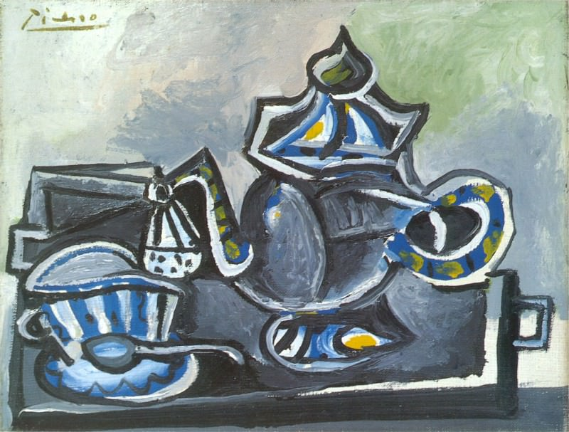 1953 ThВiКre et tasse. Pablo Picasso (1881-1973) Period of creation: 1943-1961