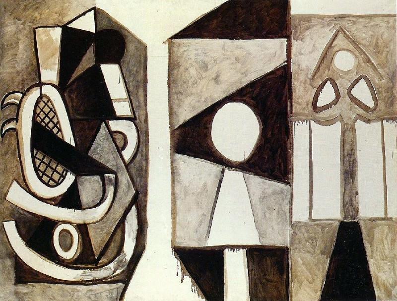 1956 Latelier. Pablo Picasso (1881-1973) Period of creation: 1943-1961 (Fauteuil Е La Californie)