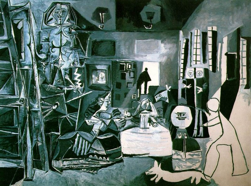 1957 Les Menines (Velаzquez). Pablo Picasso (1881-1973) Period of creation: 1943-1961