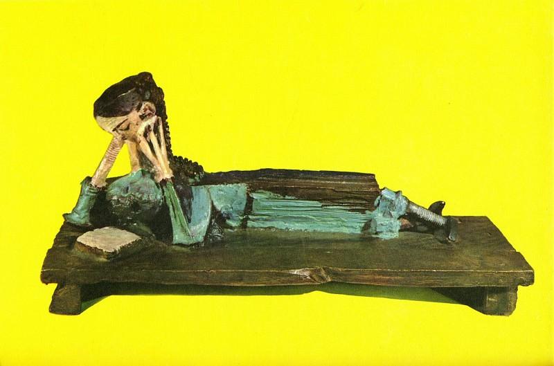 1952 Femme lisant. Pablo Picasso (1881-1973) Period of creation: 1943-1961 (La liseuse)