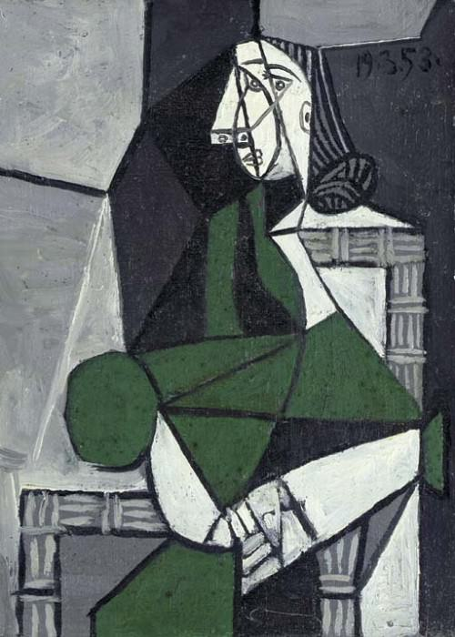 1953 Femme assise. Pablo Picasso (1881-1973) Period of creation: 1943-1961