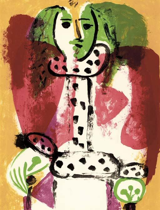 1948 Femme dans un fauteuil I. Pablo Picasso (1881-1973) Period of creation: 1943-1961