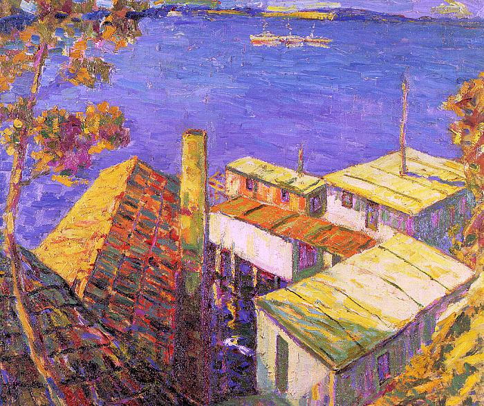 Gile, Seldon Connor (American, 1877-1947) 1. American artists