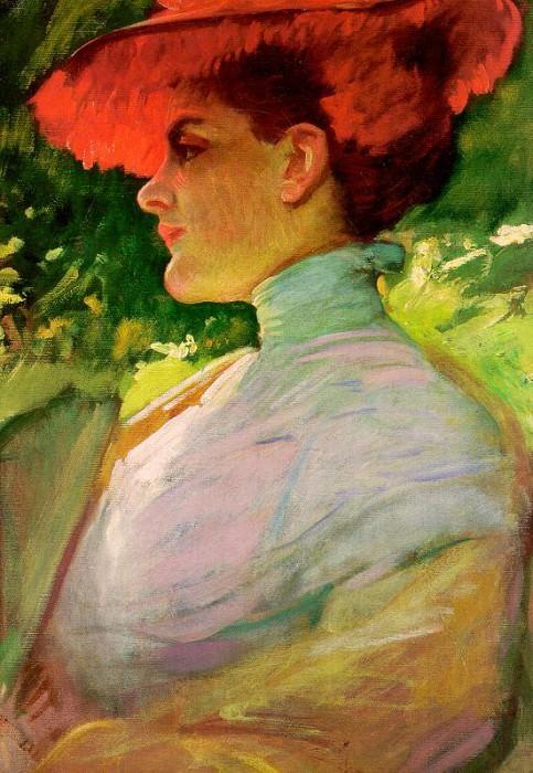 Дьювенек, Фрэнк (1848-1919). Американские художники