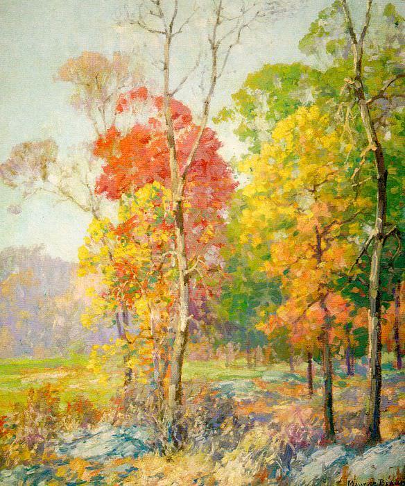 Braun, Maurice (American, 1877-1941). American artists
